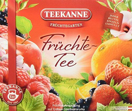 Teekanne Früchtegarten Früchtetee 40 Beutel (1 x 110 g)