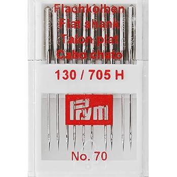 Nähmaschinennadeln 130//705 Flachkolben 10 Stück  Standard 9//70