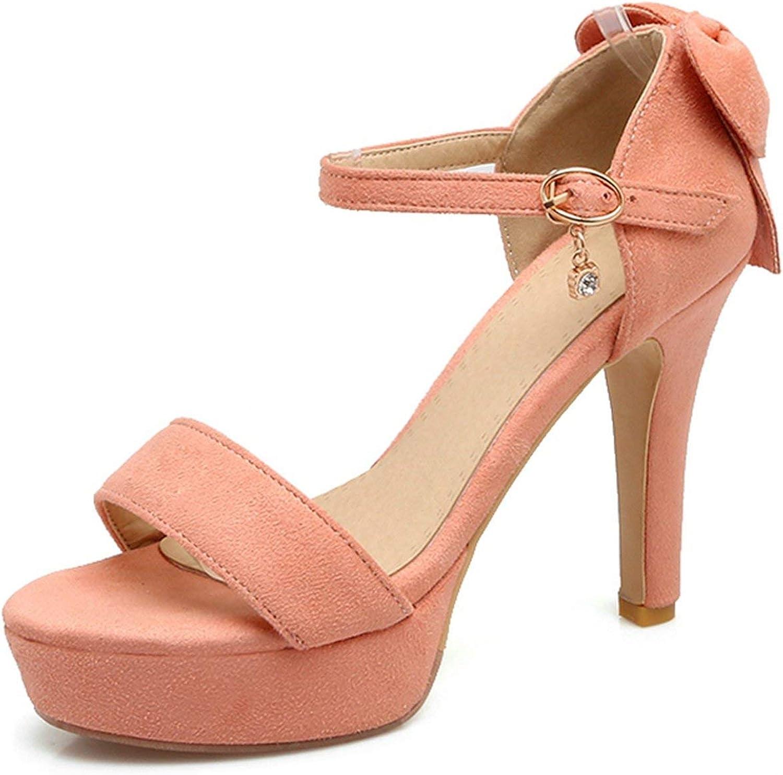 Just XiaoZhouZhou Buckle Open Toe Heels Women Sandals Summer 2019 Hing Heel Open Toe Heels Sandalia Feminina Size 34-39 ZYL2760