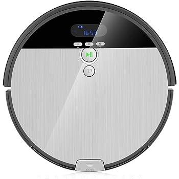 ILIFE ILIFE003-IT ILIFE0005-ES Aspirador V8s Robot Piso de Barrido y fregado con Tanque de Agua, 5 Modos de Limpieza, Plástico, 22 W, 0.75 litros, 68 Decibelios: Amazon.es: Hogar