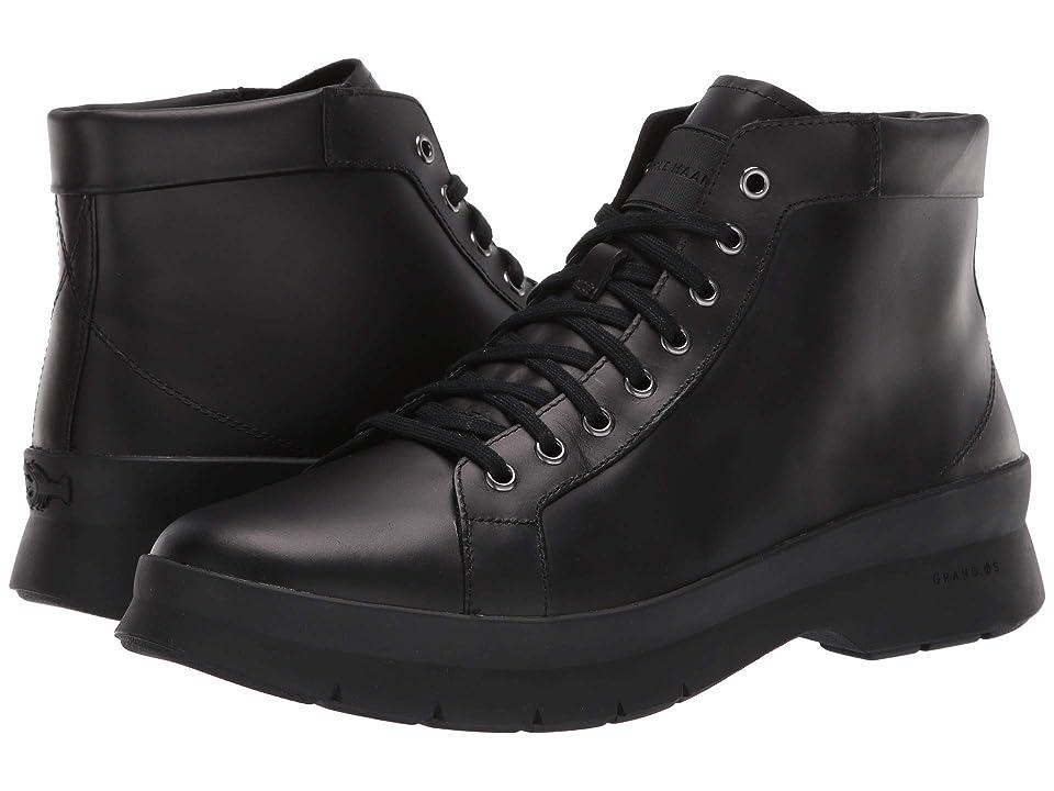 Cole Haan Pinch Utility Chukka Boot Waterproof (Black/Black) Men