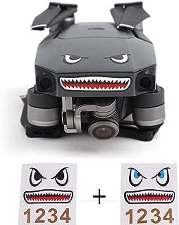 Shark Sticker Decal Waterproof Anti Scratch Skin Guard for DJI Mavic Pro / Mavic Air and DJI Spark Drone By Hobby-Ace