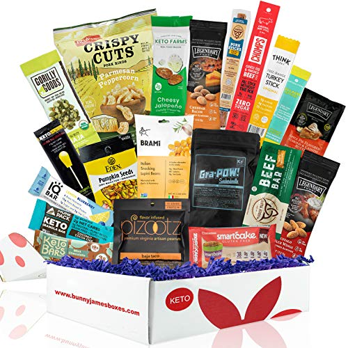 Bunny James Deluxe Keto Snack Gift Box
