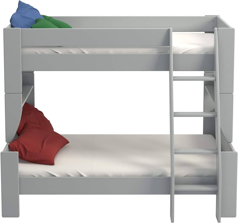 PKline Molly Kids Kinderbett 90 120x200 Kinderzimmer Holz Bett Einzelbett Bettgestell
