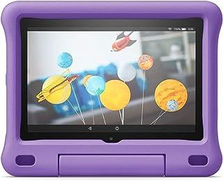 Custodia per bambini per tablet Fire HD 8 (compatibile con dispositivi di 10ª generazione, modello 2020), viola