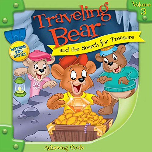 Traveling Bear and the Search for Treasure audiobook cover art
