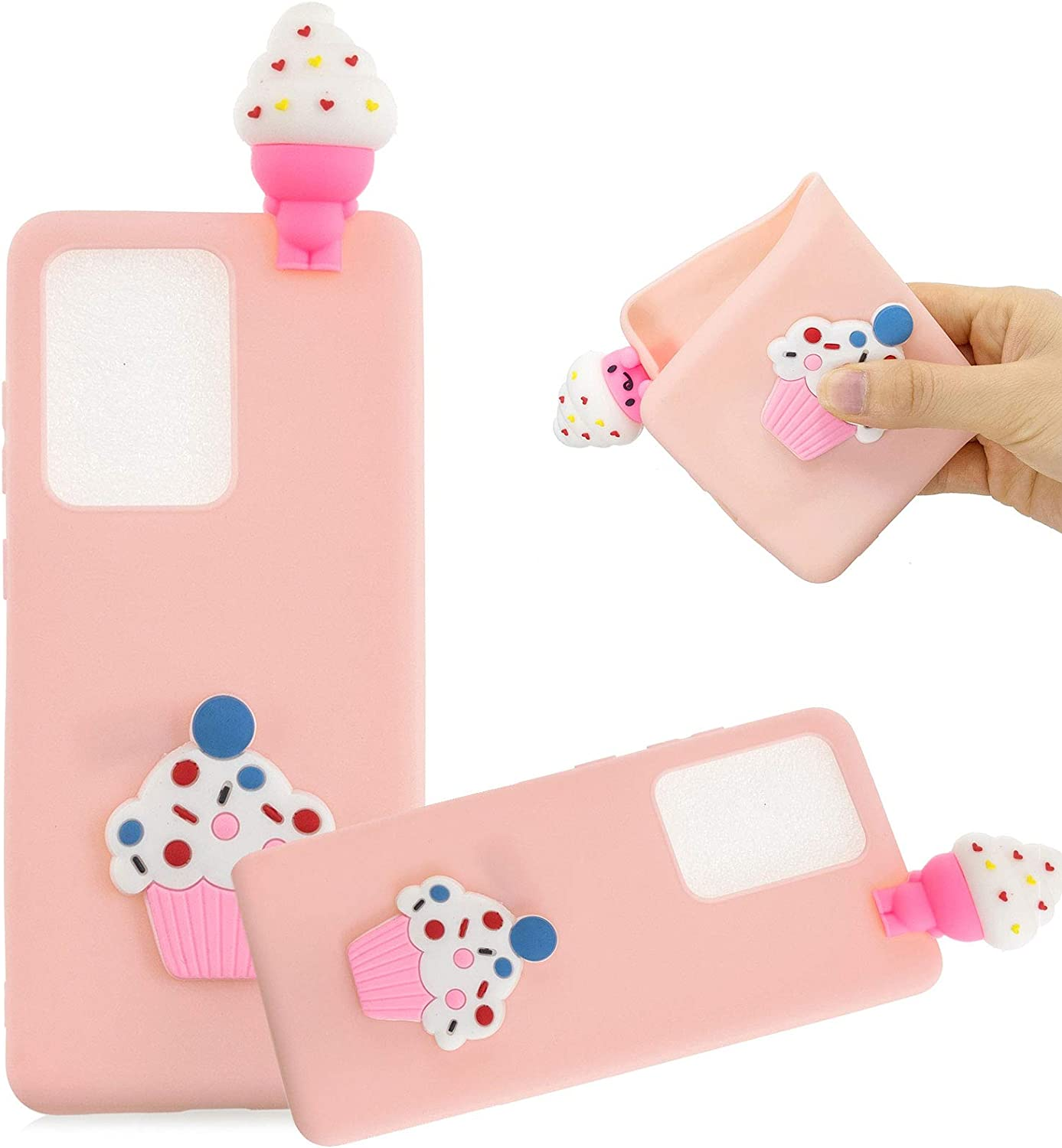 Cartoon Case for Samsung Galaxy Note 20 3D cheap Max 86% OFF Ice MOIKY 6.9