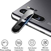 2-in-1 Metal Rear Back Camera Lens Protection Case 3D Tempered Glass Ultra-Thin Protector Film for Huawei P30 Pro VOG-L29 VOG-L09 VOG-L04 Black