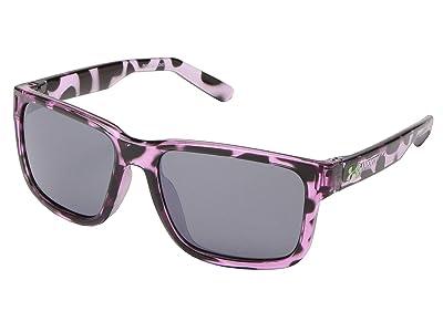 Under Armour Kids Rookie (Little Kid/Big Kid) (Shiny Purple Tortoise Frame/Gray/Multiflection Lens) Athletic Performance Sport Sunglasses