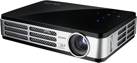 Vivitek Qumi Q5 500 Lumen WXGA HD 720p HDMI 3D-Ready Pocket DLP Projector with 4GB Memory (Black)