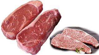 Kobe 6-7 12 bs. + Japanese Beef A5 Grade Strip Steaks 4 lbs.