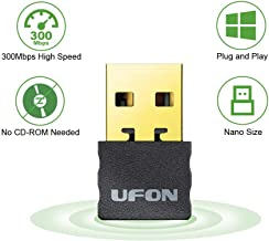 USB WiFi Adapter 300Mbps Plug and Play WiFi Dongle for PC Desktop Laptop,Wireless Network Adapter Support Windows 10/8/8.1/7/XP,Nano Size No CD Needed …