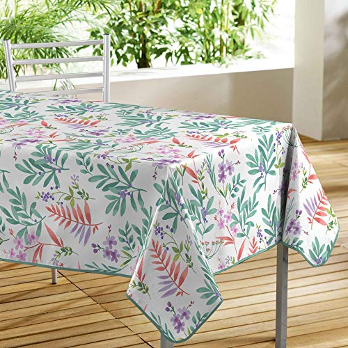 TIENDA EURASIA® Mantel Hule de Mesa - Mantel Rectangular 140 x 240 cm - Diseños Fotoimpresos Modernos - Fabricado en 100% PVC (C)