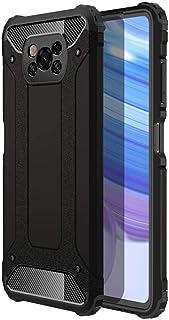 スマホケース Xiaomi Poco X3 NFC ケース 対応 TPU 耐衝撃、 ブラック