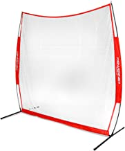 PowerNet Golf Net | Use Real or Practice Balls | New and Improved Design for 2019 | for Working on Drives, Chips with Woods or Irons | Large Hitting Surface | Indoor or Outdoor Use (7' x 7')