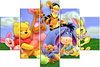 Baby Tableau With 5 Pieces 80x120 Cm