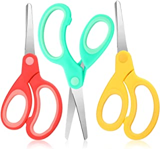 Sponsored Ad - Left Handed Stainless Steel Scissors 6 Inch Lefty Soft Grip Office Scissors Craft Pointed Shears Scissors f...
