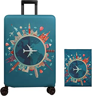 Suitcase Cover One Piece Tony Chopper Trolley Travel Luggage Covers Suitcase Protector Washable Baggage Cover XL
