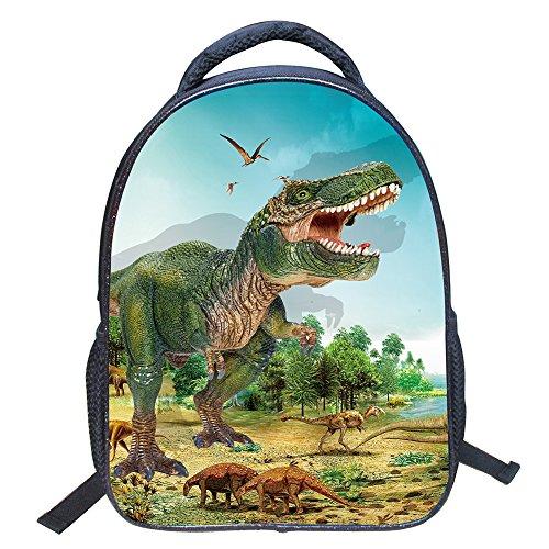 Kindergartenrucksack Wasserdicht Rucksäcke 3D Dinosaurier Pattern Kinder Schultasche Kindergartentasche (Stil ZZ43)