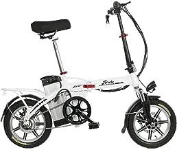 Riscko Bicicleta eléctrica Plegable Volt Unisex Adulto Talla única Color Blanco o Negro 350W 36V