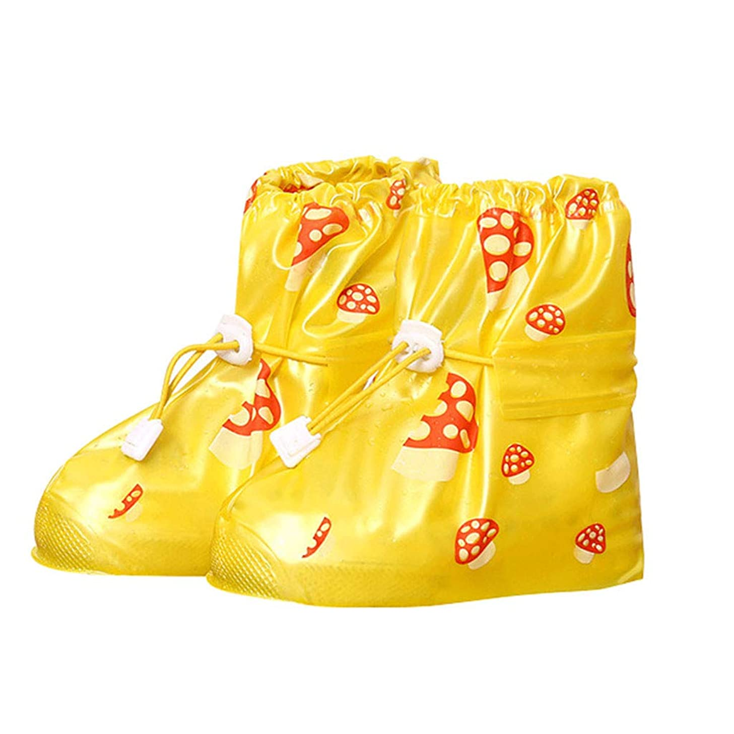 Sttech1 Rain Shoes Cover for Kids Children's Waterproof Slip-Resistant Snow Cycling Overshoes for Boys and Girls qnxlxv1646427