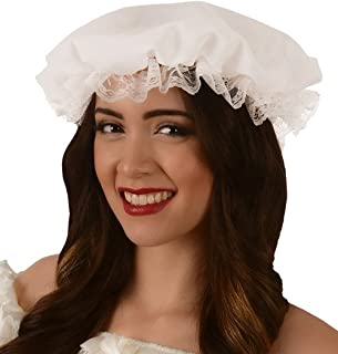 Kangaroo Women's White Colonial Mob Hat, Mother Goose, Big Bad Wolf Hat