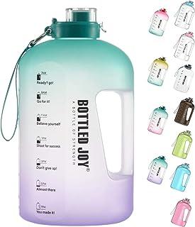 BOTTLED JOY 1 Gallon Water Bottle, BPA Free Large Water...