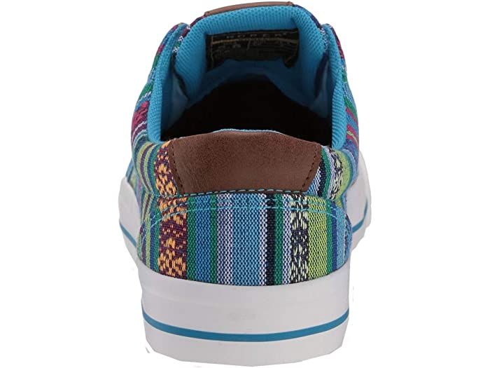 Roper Angel Fire Multi Blue Aztec Canvas Sneakers & Athletic Shoes