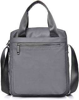 Men's Accessories Men's Canvas Vintage Style Briefcase Shoulder Messenger Crossbody Satchel Tote Bag for Business,Brown/Green/Khaki Outdoor Recreation