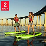 Lifetime 10' Hardshell Horizon Stand Up Paddle Board 2-pack