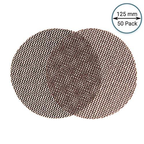 GLASS POLISH 14504 GlasNet200 grob Profi Schleifscheibe für Glas, Siliziumkarbid Schleifscheibe mit Klettverschluss | Ø 125 mm | 50 Stück