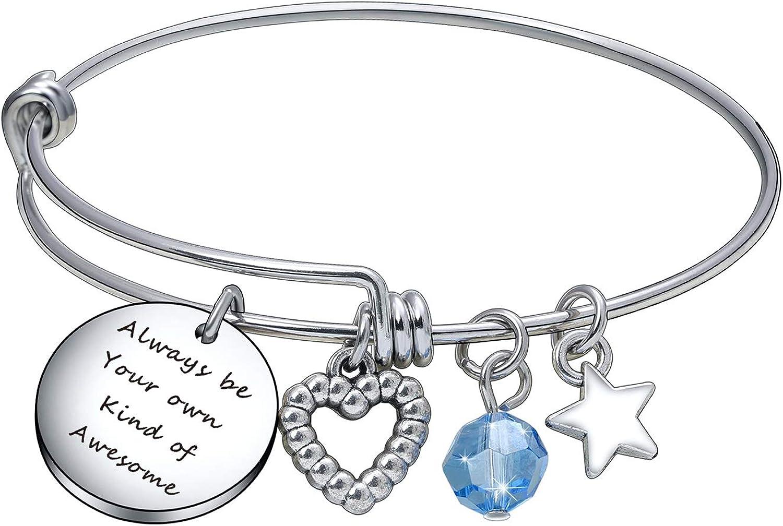 Deai Inspirational Popular standard Bracelet Motivational Gift Regular dealer be o Your Always