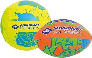 Schildkroet-Funsports Unisex's Neoprene Mini Duo Pack Ball, Multi-Colour, Small
