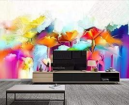 Mural wallpaper Wallpaper 3D Wall Mural Abstract Art Floral Painting 3D Wall Murals Living Room Sofa Tv Wall Bedroom Wallp...