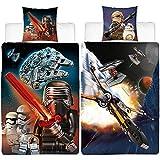 Lego Kinder Wende-Bettwäsche Star Wars Millennium 135 x 200