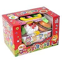 MIZU toy おままごと セット ごっこ遊び ピクニック遊び 子供たちが プレイ食品台所のおもちゃ知育玩具の果物 の食品キッチンプレイセット 収納ボックス 切れる野菜 遊びセット食べ物 カット 切る遊び 知育玩具 子どもの誕生日プレゼント (ケーキ) [並行輸入品]