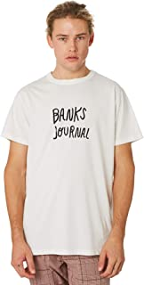 Banks Men's Ty Journal Mens Tee Cotton Polyester White