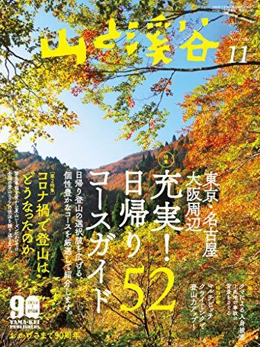 山と溪谷 2020年 11月号 [雑誌]