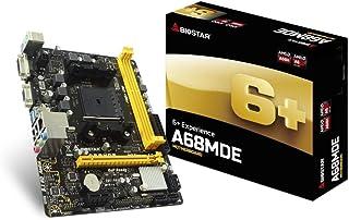 Biostar A68MDE - Placa Base (DDR3-SDRAM, DIMM, 800,1066,1333,1600,1866,2133,2400,2600 MHz, Dual, 32 GB, AMD)