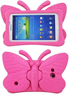 Tading Kids Case for Samsung Galaxy Tab 4/3/3 Lite 7.0 inch Tablet, Lightweight Shockproof EVA Foam Super Protection Stand...