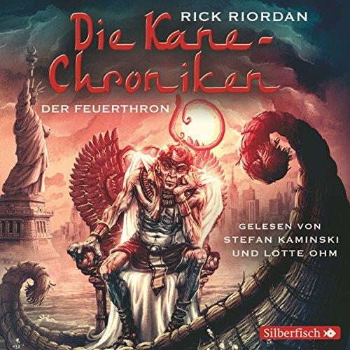 Der Feuerthron audiobook cover art