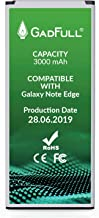 GadFull Batería de reemplazo para Samsung Galaxy Note Edge | 2019 Fecha de producción | Corresponde al Original EB-BN915BBE | EB-BN915BBC | Compatible con SM-N915F | SM-N915FY
