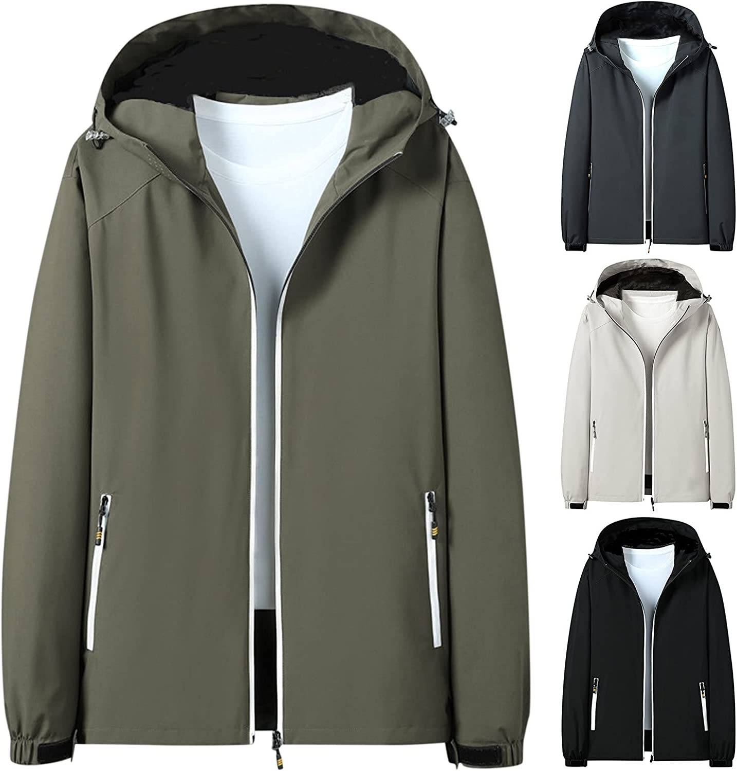 Men's Recommendation Winter Gorgeous Luminous Flight Jacket and Out Waterproof Windproof