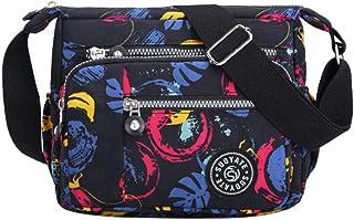 Women'S Casual Messenger Bag Waterproof Nylon Handbag Female Daily Shoulder Bag Ladies Messenger Bag