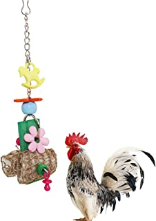 Lanermoon Chicken Toys for Chicken with Natural Cuttlefish Bone Chewing Toys