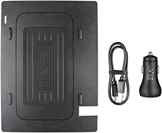 Godyluck Central Control Mobile Phone Wireless Charging Pad Panel Special on Board Fit for Toyota Camry 2018-2019