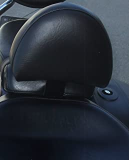 Grasshopper Limited Drivers Backrest for Yamaha 1300 V-Star American Made NON STUDDED Complete System Quick Release