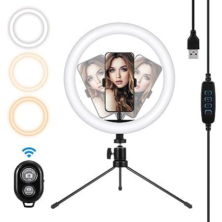 Mohoo Ringlicht Mit Stativ Für Handy 10 Zoll Tiktok Kamera