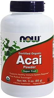 Now Foods, Certified Organic Acai Powder, 85 g