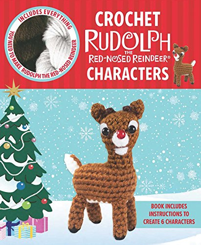 Crochet Rudolph the Red-Nosed Reindeer Characters (Crochet Kits)